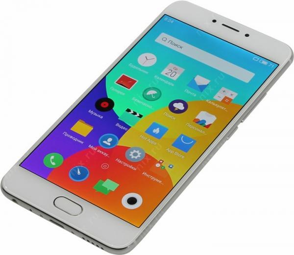 Meizu MX6 Silver/White 32Gb