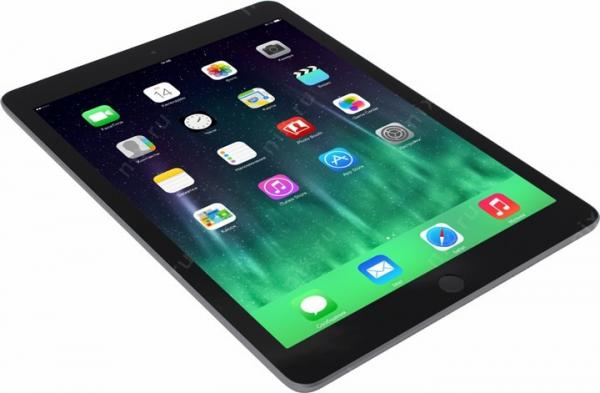 Планшет Apple iPad 32Gb Wi-Fi + Cellular серый (MP1J2RU/A)