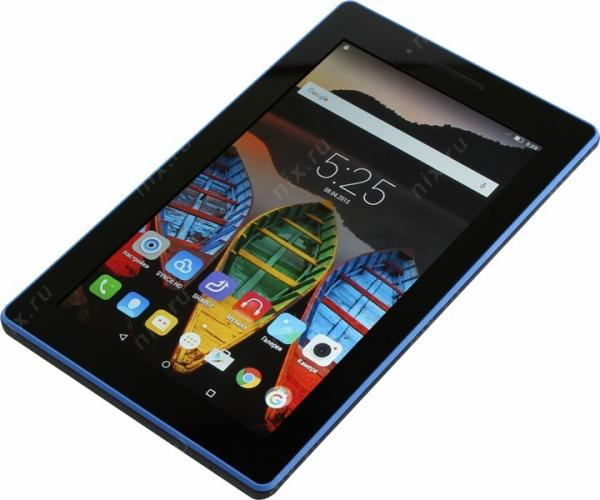 Планшет Lenovo TAB 3 Essential 710i 8Gb black (ZA0S0023RU)