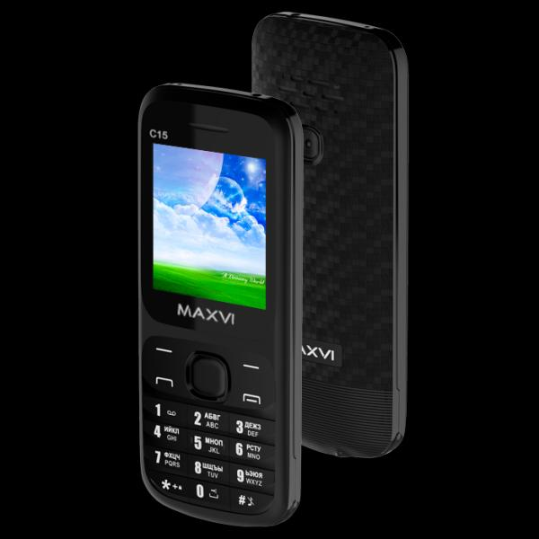 Телефон MAXVI C15 Black