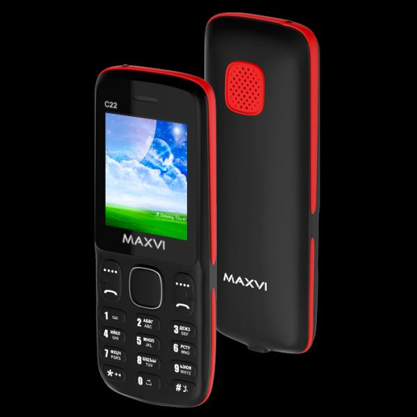 MAXVI C22 Black-Red