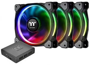 Riing Plus 14 LED RGB Radiator Fan TT Premium Edition (3 штуки)